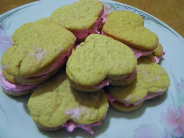 galletas en San Valentín