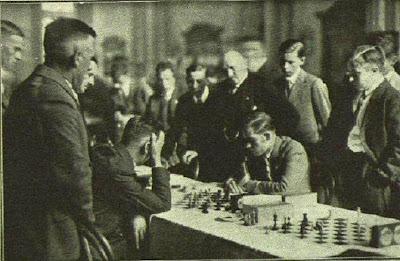 Partida de ajedrez Richter-Ribera, Hamburgo 1930