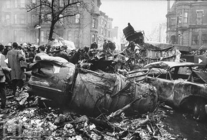 The Park Slope Plane Crash Rare Photos From The 1960 New