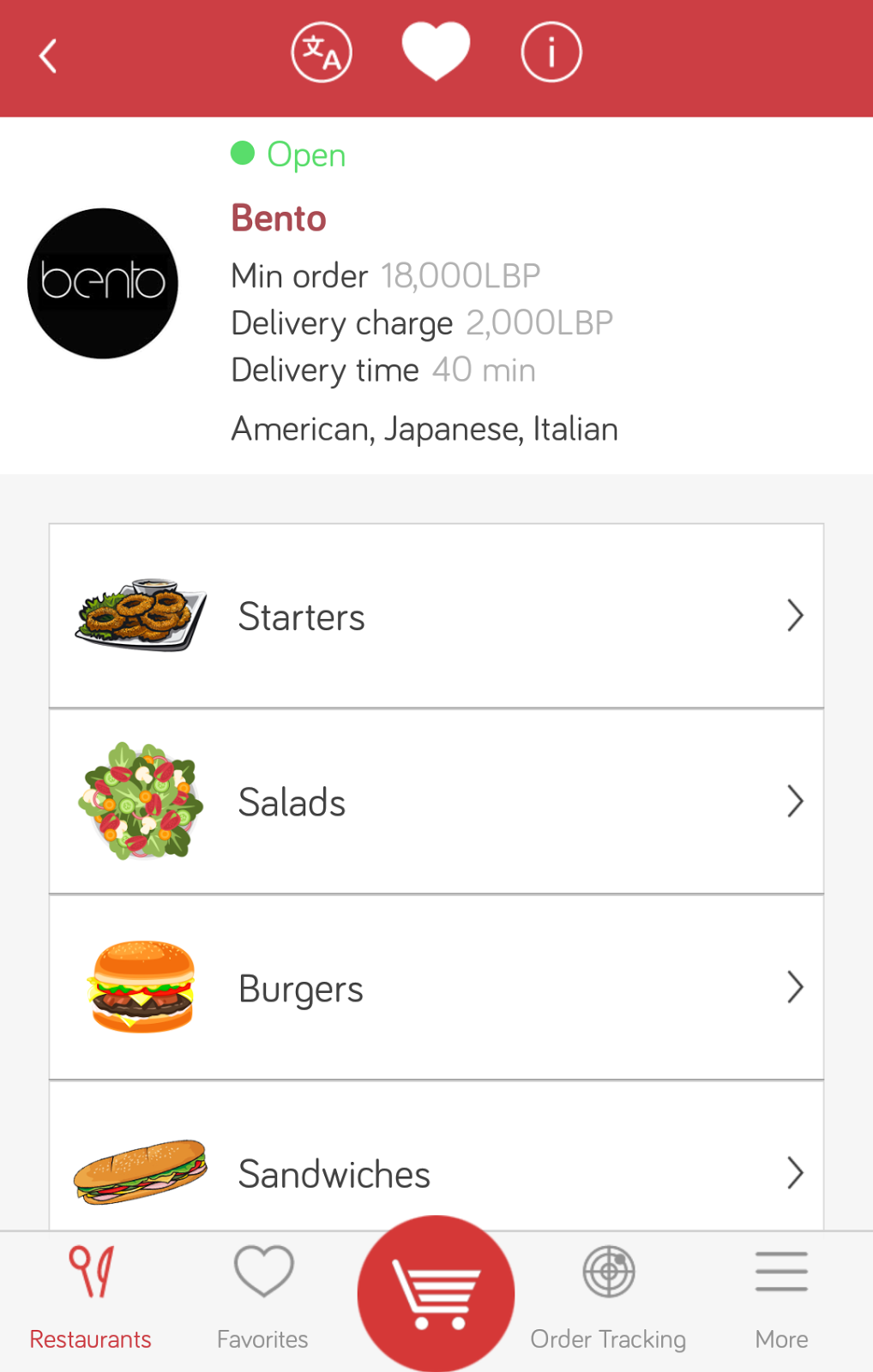Food Delivery Options London