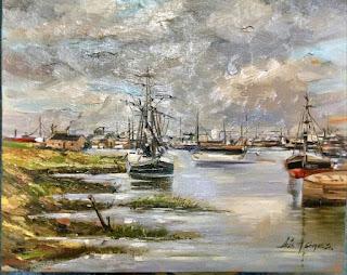 Alfredo Gómez Sevilla pintores Colombianos, Artistas Colombianos