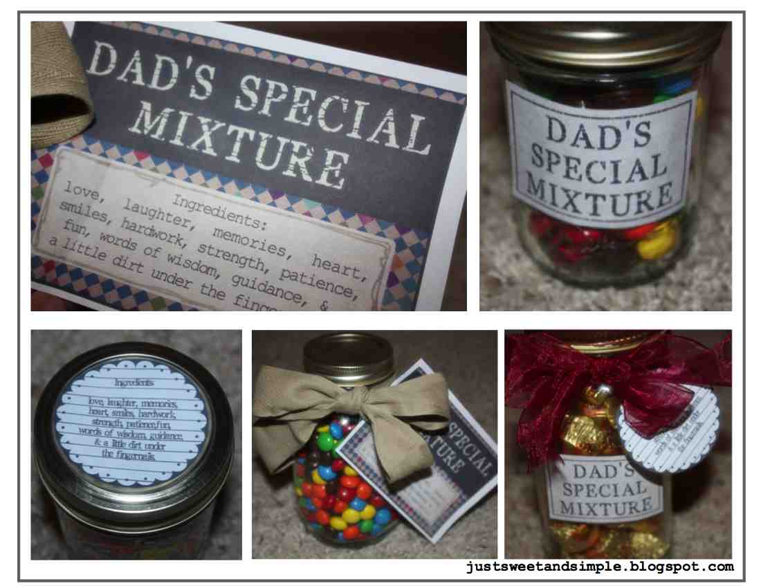 Just Sweet And Simple Father S Day Printables Gift Ideas