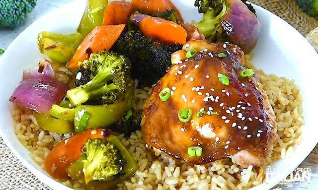 One-Pan Baked Chicken Teriyaki