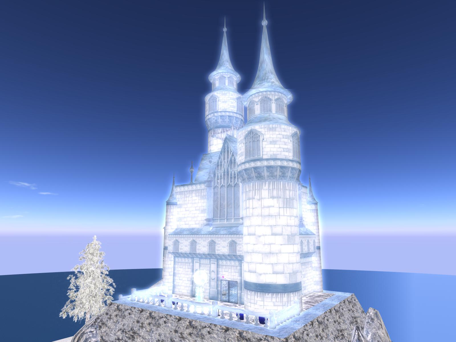 Frozen Ice Castle Wallpaper Presenting The Roses Club Pictures