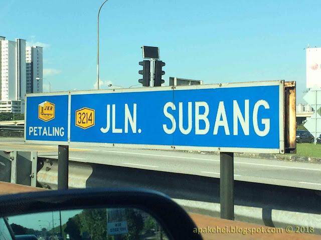 Jalan Subang
