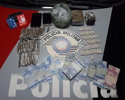 Polícia Militar prende homem por tráfico de drogas e corrupção de menores em Miracatu