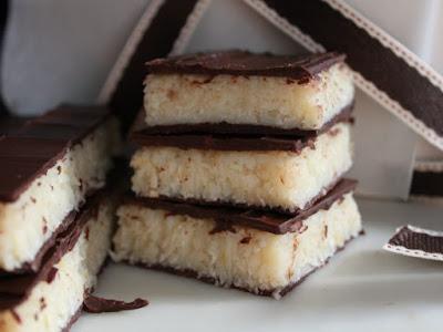 turron de coco casero, turrón de coco y chocolate, turrón casero de coco