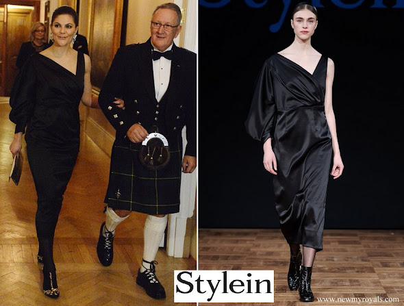 Crown Princess Victoria wore Stylein Dress