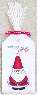 Santa Tag - photo by Deborah Frings - Deborah's Gems