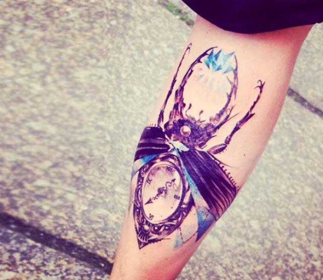 Tatuagem Besouro