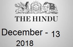 The Hindu Newspaper Today 13 December 2018 Download PDF