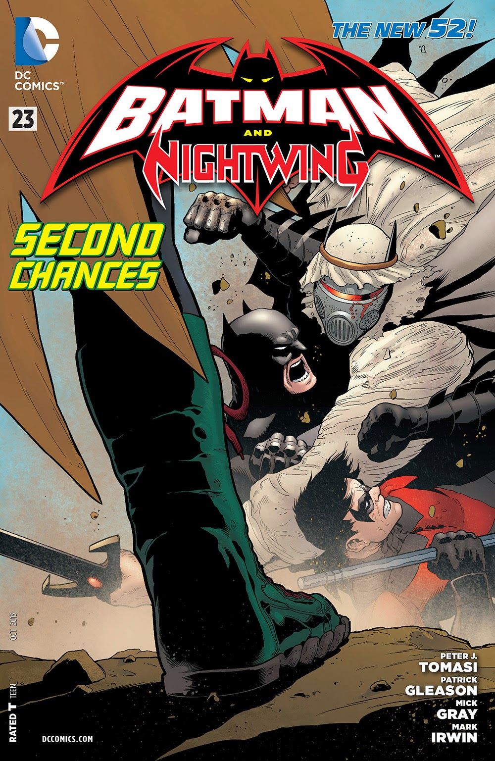 023: Batman and Nightwing …………… ……   | Viewcomic reading