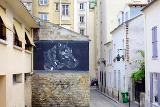Sunday Street Art : Philippe Baudelocque - passage Boiton - Paris 13