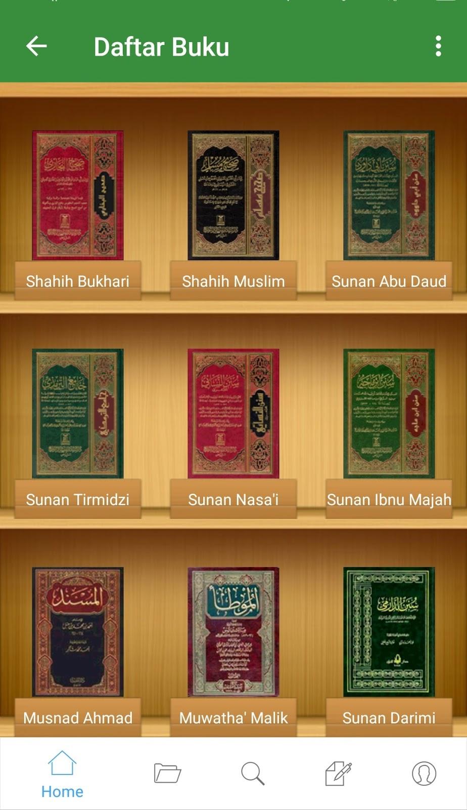 Ensiklopedi Hadits Kitab 9 Imam: Aplikasi Hadits Offline Terbaik pada Ponsel Android