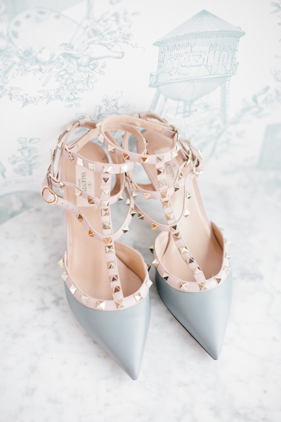 zapatos novia valentino azul serenity