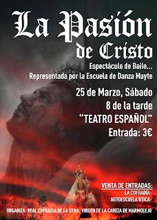 La pasión de Cristo cartel