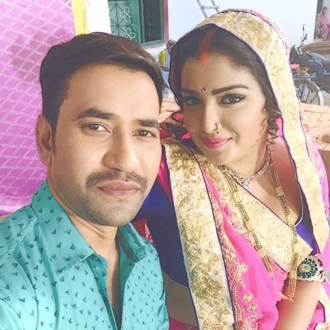 Dinesh Lal Yadav 'Nirahua', Amrapali Dubey Bhojpuri movie Nirahua Satal Rahe 2017 wiki, full star-cast, Release date, Actor, actress, Song name, photo, poster, trailer, wallpaper