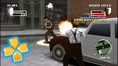 Godfather Mob War PPSSPP ISO Download for Android