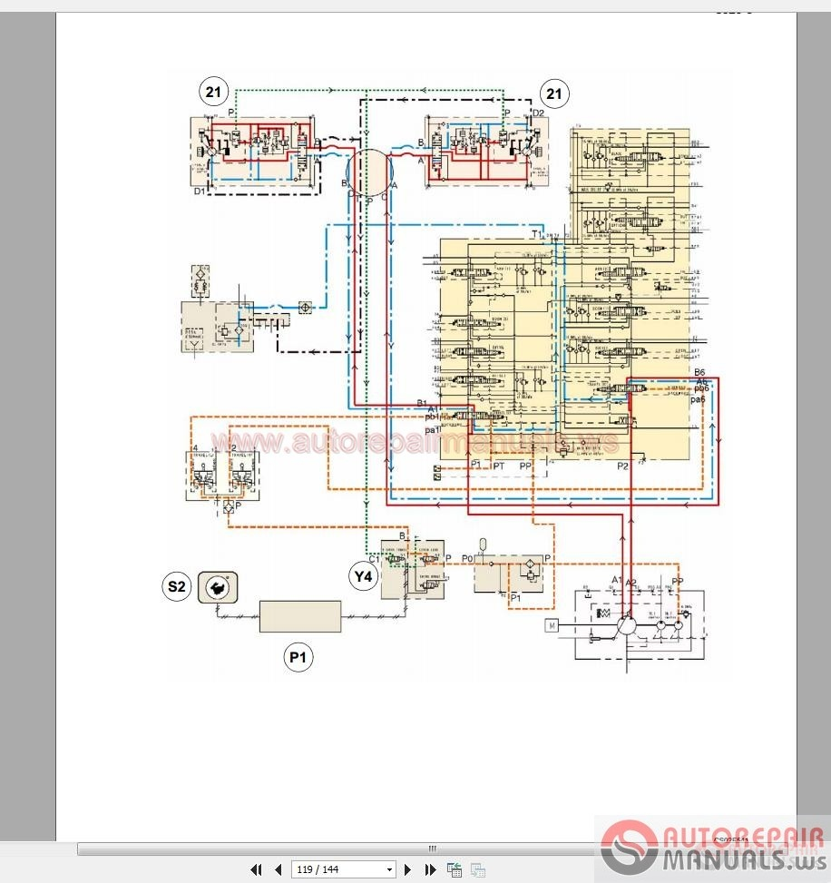 hight resolution of case excavator tracks service manual schematic full download