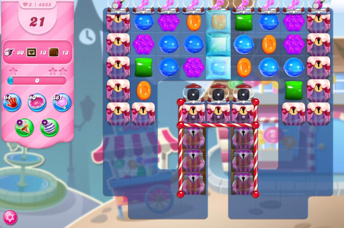 Candy Crush Saga level 4855