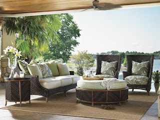 tropical furniture for outdoor living