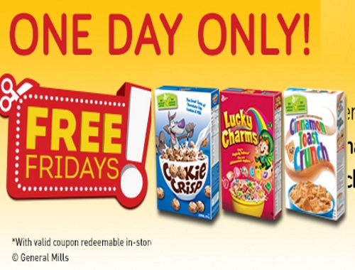 Free Cookie Crisp Cereal Coupon