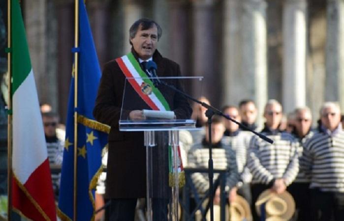 Walikota Venesia Luigi Brugnaro