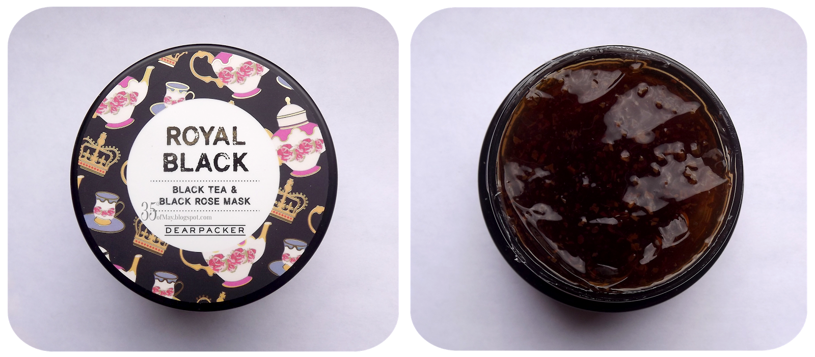 Dear Packer Royal BlackTea & Black Rose Mask review