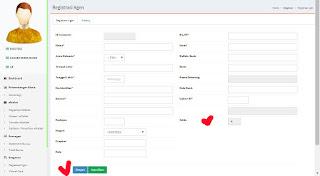 cara registrasi agen hpai online