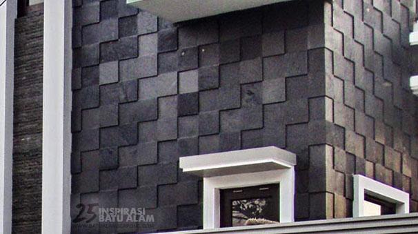 25 inspirasi pemasangan batu alam dinding