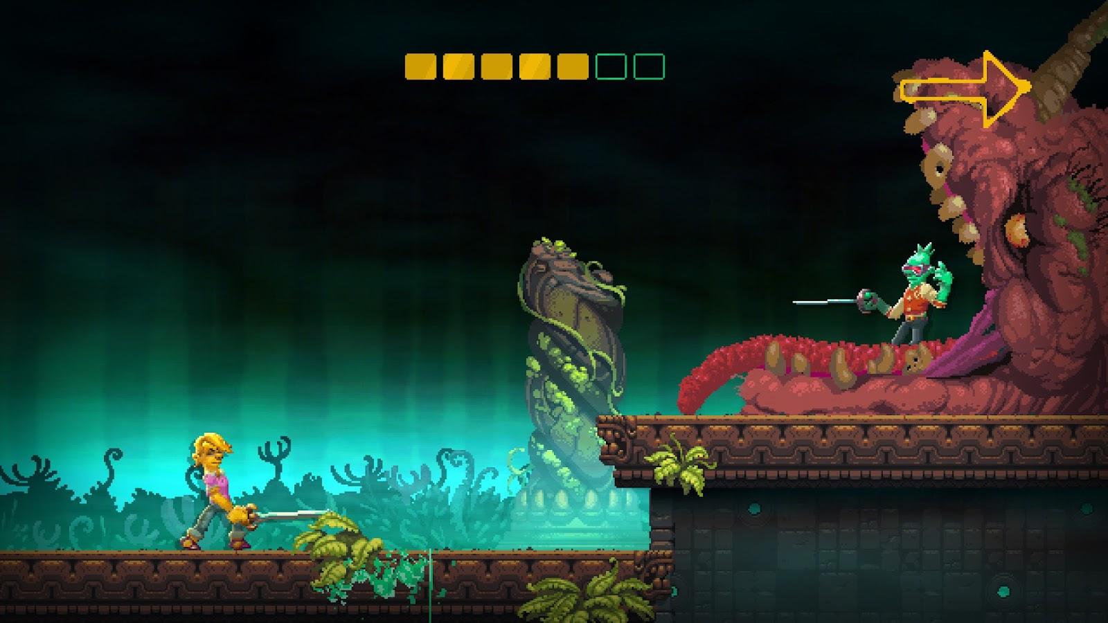 Nidhogg 2, продолжение Nidhogg, игра симулятор фехтования и фехтовальщика, инди, рецензия, обзор, Review, Indie Game