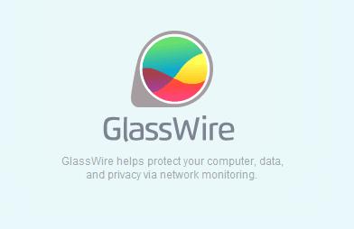 برنامج معرفة GlassWire كيف يتم استهلاك الانترنت