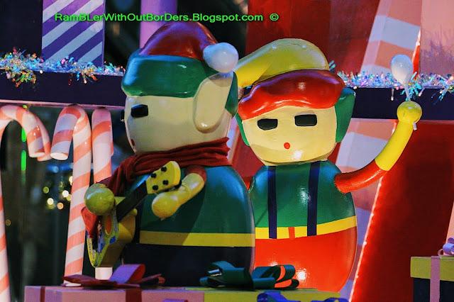 Christmas decoration, Wheelock Place, Orchard Road, Singapore