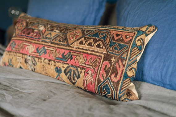 bohemian kilim pillows