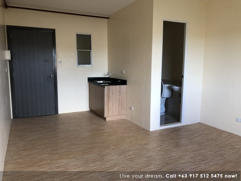 Studio 24 Sqm (Move-In Ready) - Camella Condo Homes Las Pinas| Camella Condominium for Sale in Las Pinas City