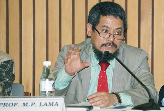 Prof  Mahendra P Lama in Eminent Persons Group (EPG)