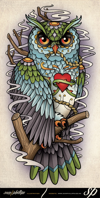 Owl Tattoo Designs - Tattoos Art Ideas 2016-2017
