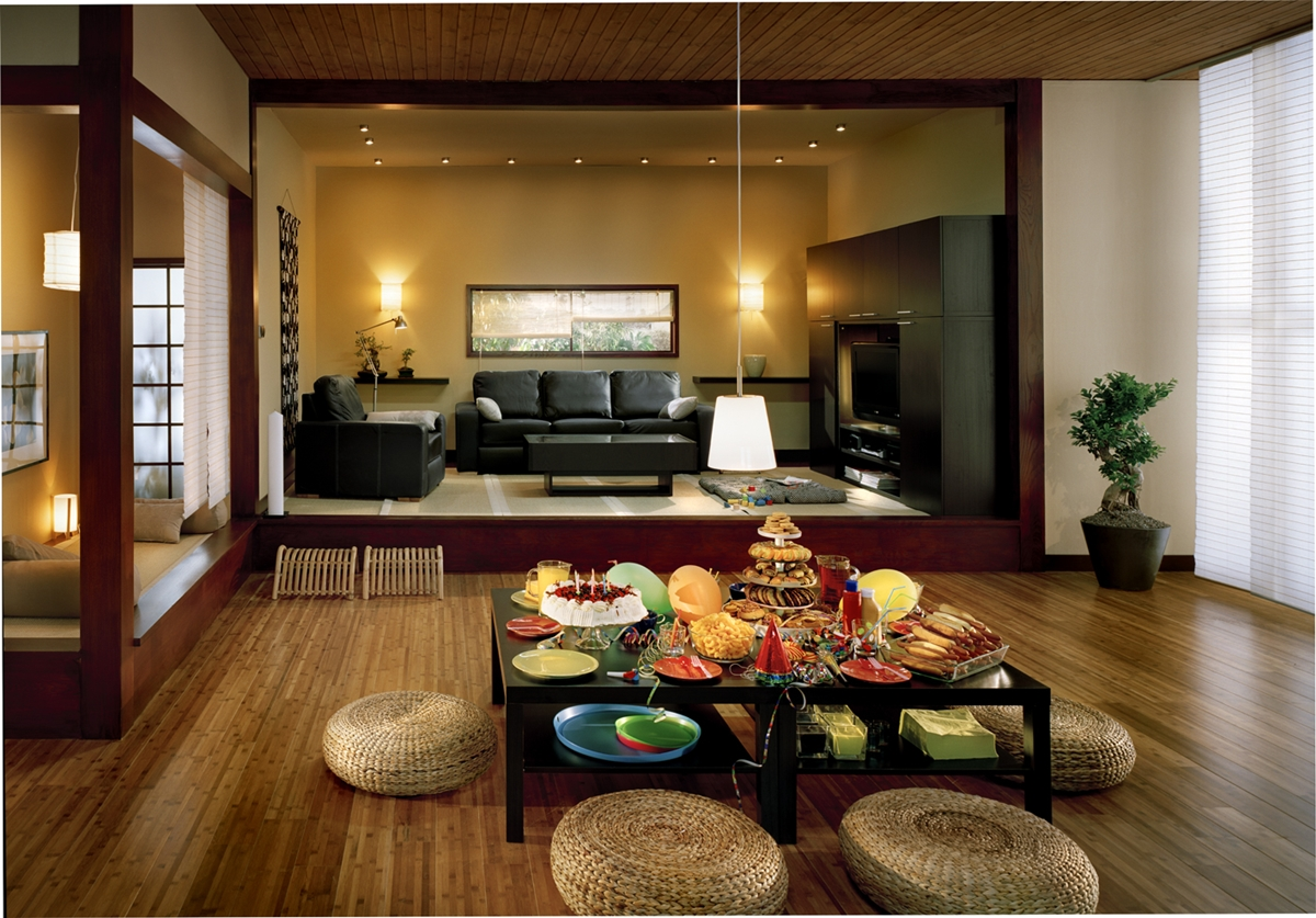 Asian Inspired Living Rooms 78