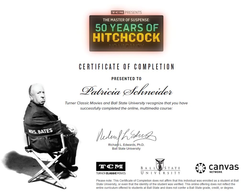 50 Years of Hitchcock - Summer 2017