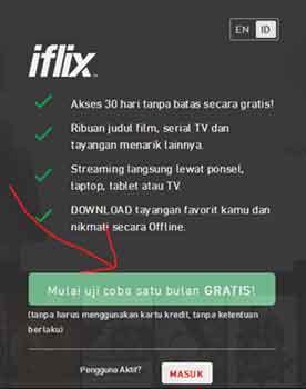 menonton film legal iflix solusinya