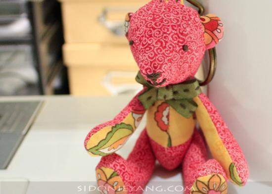 Handmade Teddy Bear 手作泰迪熊 from Sola Wu