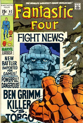 Fantastic Four #92, Ben Grimm - Killer