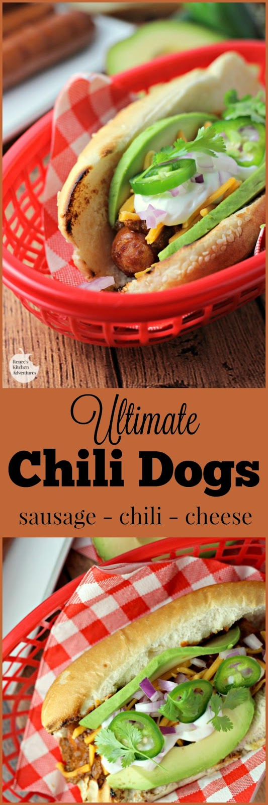 Ultimate chili dogs renee 39 s kitchen adventures for Renee s kitchen