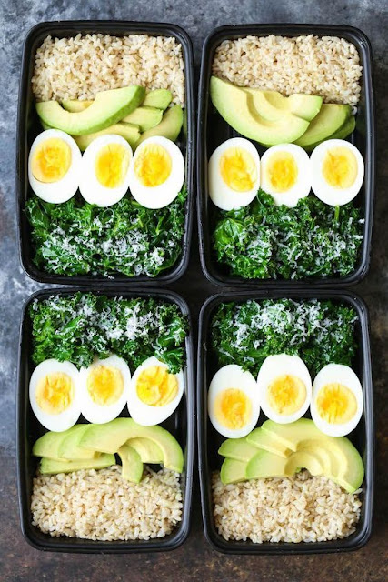 Avocado And Breakfast Meal Prep