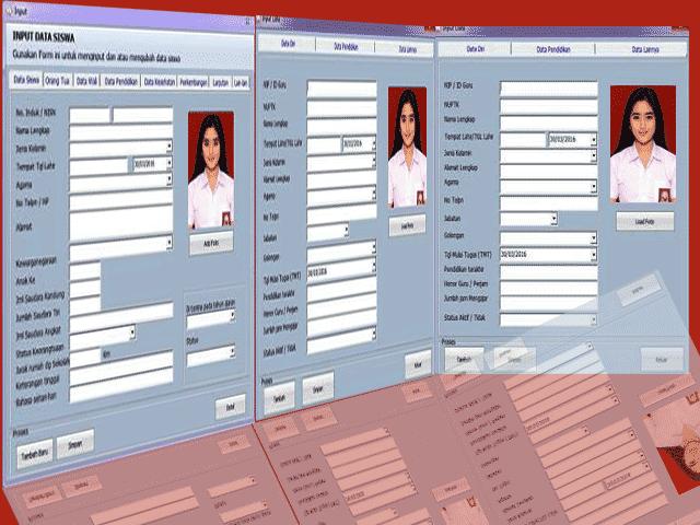 Software Aplikasi Buku Induk Otomatis SD/MI,SMP/MTS,SMA/SMK