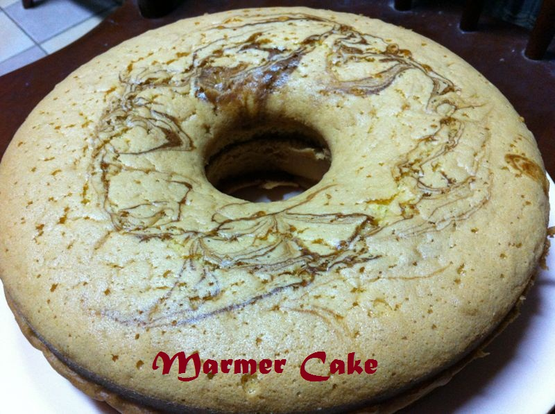 From My Kitchen: Marmer Cake Jadul