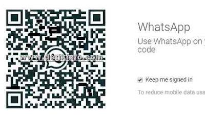 Cara melihat kode Bar atau QR Code Whatsapp