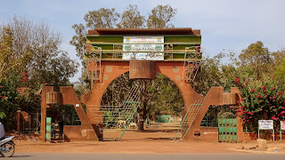 East of Ouagadougou. Worth a visit when having enough time.