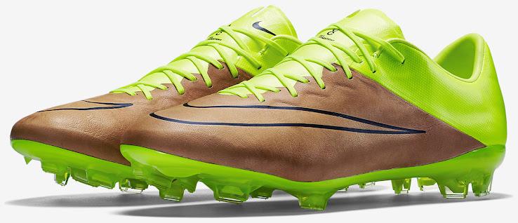 d7fdd5882e63 Canvas   Volt Nike Mercurial Vapor X Leather 2015-2016 Boots ...