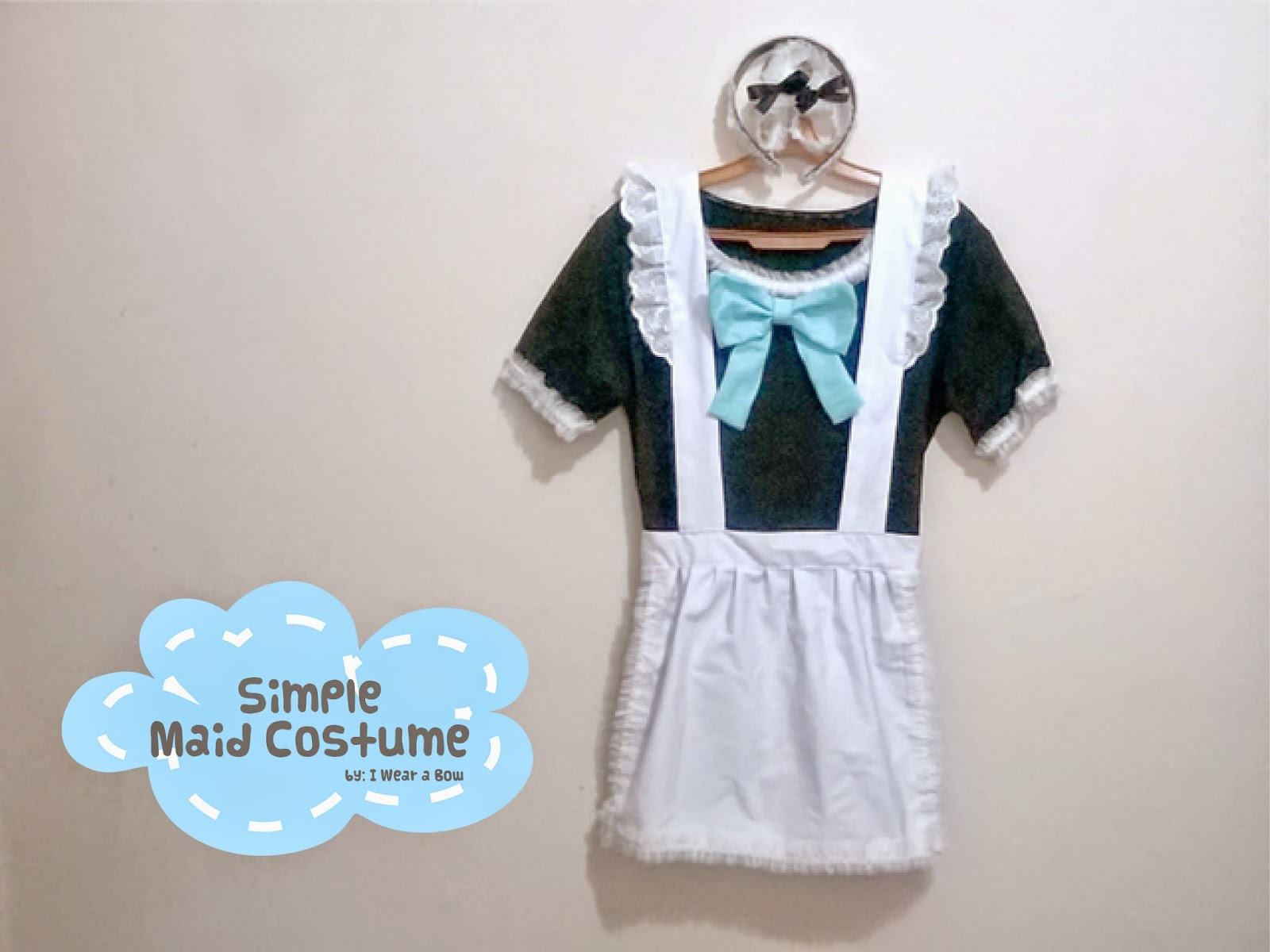 DIY Maid Costume - Simple and Easy for Halloween